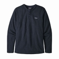 M's Better Sweater Henley P/O