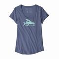 Ws Flying Fish Organic Scoop T-Shirt