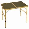 キャンプアウト アルミフォーウェイテーブル 90×60cm