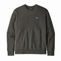 M's Organic Cotton Quilt Crewneck Sweatshirt