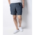 COTTON LINEN ZIPPER SHORTS