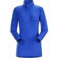 Phase AR Zip Neck LS Womens-sj