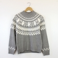 Nordic Knit Top