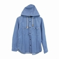 CHUMS(チャムス)Denim CPO Hooded Shirt