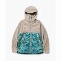 pine printed wind jacket