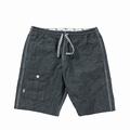 Cotton Linen Indigo Shorts