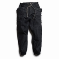 VENDOR RIB PANTS/ONE WASH (BLACK)
