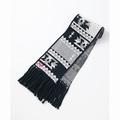 Delta Pattern Knit Muffler