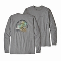 patagonia(パタゴニア)M's L/S Save Our Watersheds Responsibili-Tee