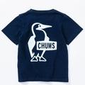 Kid's Booby Logo T-Shirt Indigo