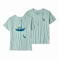 W's Cap'n Cat Organic Crew T-Shirt