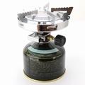 小型ガスバーナーコンロ<圧電点火装置>(ケース付)