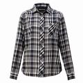 W's QD Check L/S Shirt