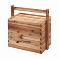CSクラシックス 木製おかもち2段 (フタ付)