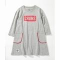 Kid's CHUMS Logo Pocket Dress