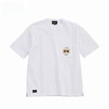 S/S Embroidery Pocket Pigment Tee