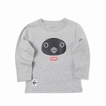 Kid's Booby Front Face L/S T-Shirt