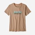 W's Pastel P-6 Logo Organic Crew T-Shirt(レディース)