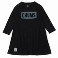Kid's CHUMS Logo L/S T-Dress