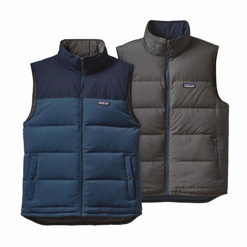 Ms Reversible Bivy Down Vest