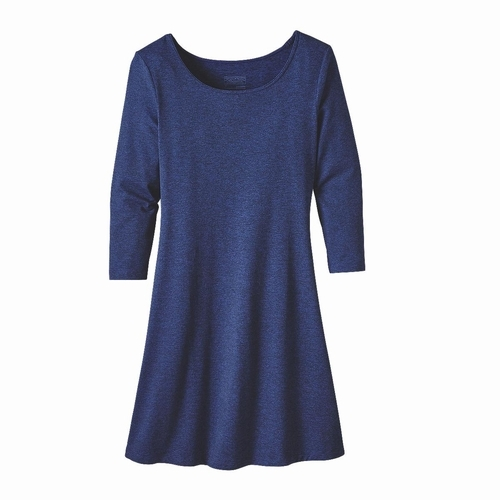 Ws 3/4 Sleeve Seabrook Dress