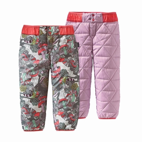 Baby Reversible Puff-Ball Pants -sj