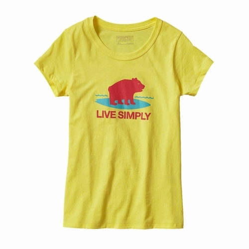 Girls Graphic Cotton-Poly T-Shirt 2016SS