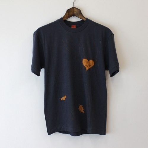 Love Wood Tee WEST別注