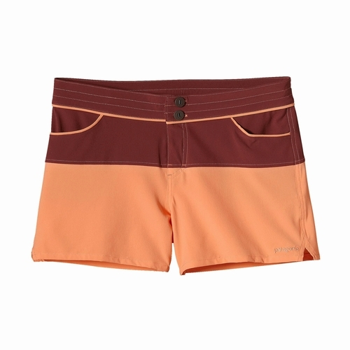 W's Colorblock Meridian Shorts RIRN 4