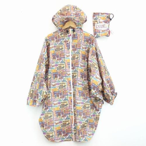 Booby Face Poncho Print