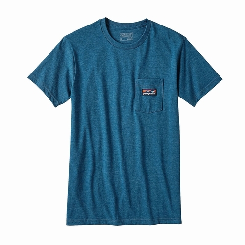 Ms Board Short Label Cotton-Poly Pocket T-Shirt