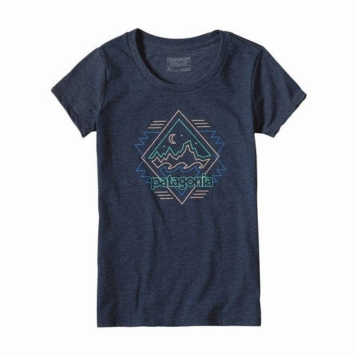 Girls Fitz Roy Boogie Cotton-Poly T-Shirt-sj