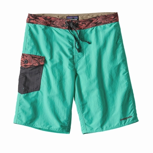Ms Patch Pocket Wavefarer Board Shorts-20 in-sj