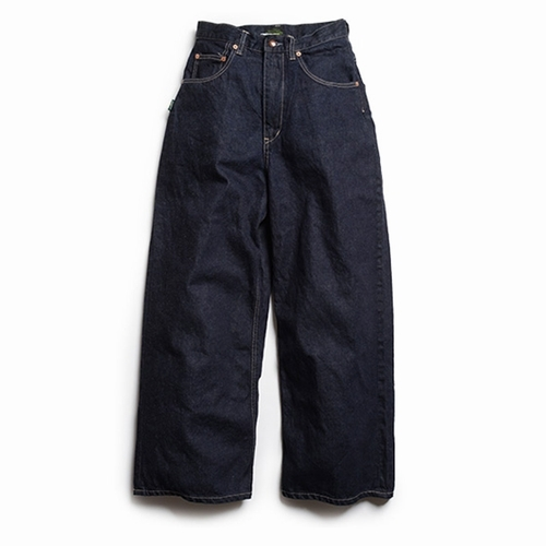 WIDE DENIM PANTS/ONE WASH