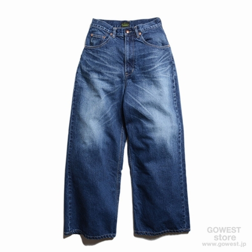 GH WIDE DENIM PANTS H/C