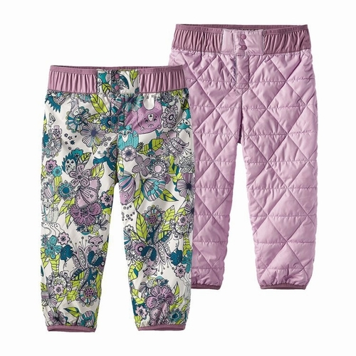 Baby Reversible Puff-Ball Pants