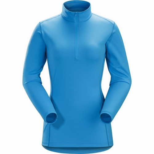 Phase AR Zip Neck LS Womens