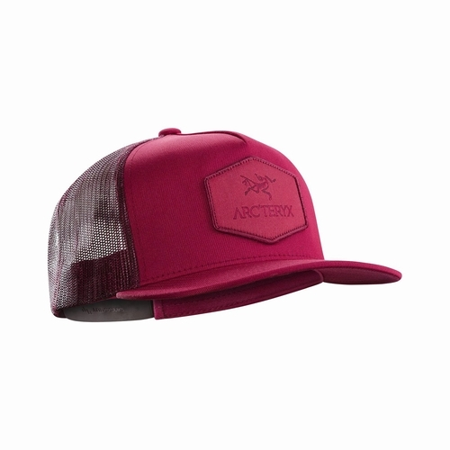 Hexagonal Patch Trucker Hat