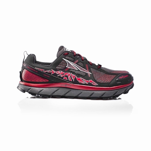 Lone Peak 3.5 Men(Black/Red)限定カラー