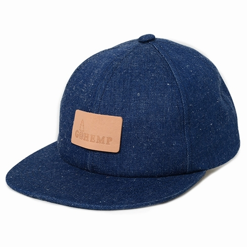 BASEBALL CAP/SLUB NEP 11oz DENIM