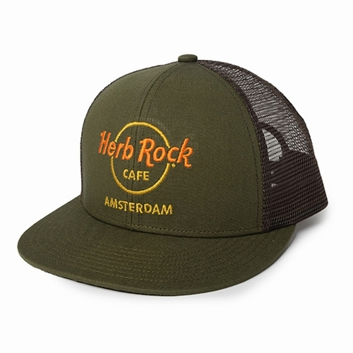 Herb Rock CAFE MESH CAP
