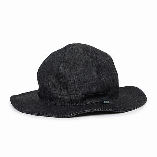 HOBO HAT/12oz H/C BLACK DENIM