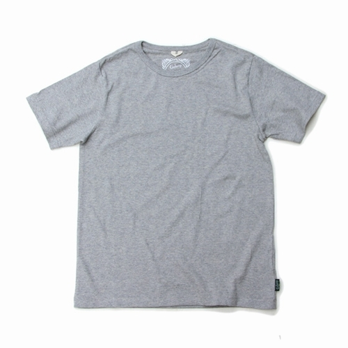 BASIC S/SL TEE/(TOP GRAY、BLACK HEATHER)