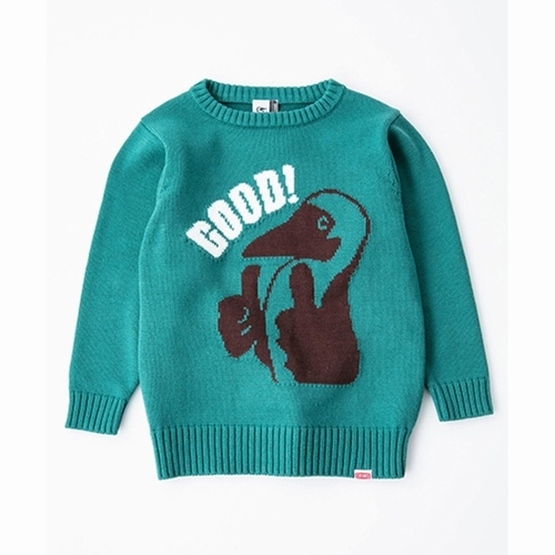 Kids Cyclone Knit Crew Top