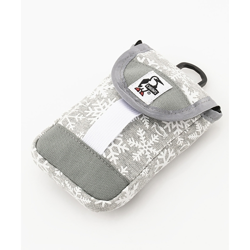 Mobile Patched Case Sweat Nylon