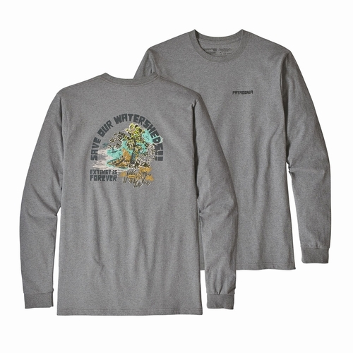 M's L/S Save Our Watersheds Responsibili-Tee