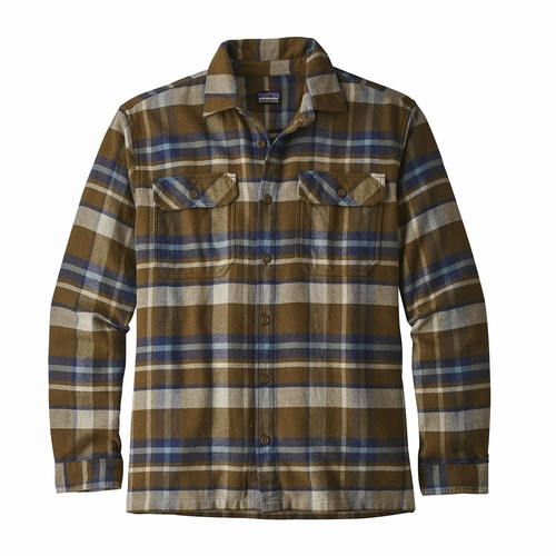 M's L/S Fjord Flannel Shirt
