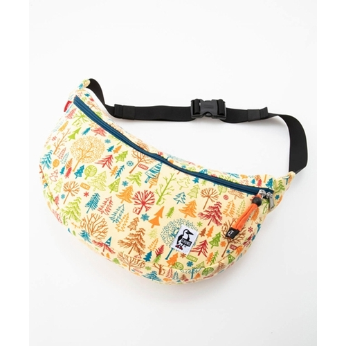 Banana Diagonal Waist Bag Sweat