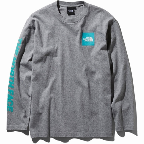 L/S Square Logo Sleeve Tee