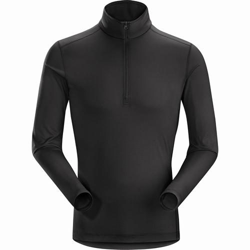 Phase SL Zip Neck LS Mens